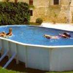 Как выбрать хороший бассейн для дачи