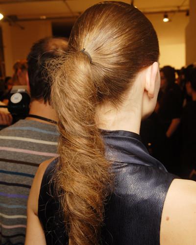 Виды хвостов причёска