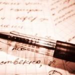 Как стереть ручку с бумаги