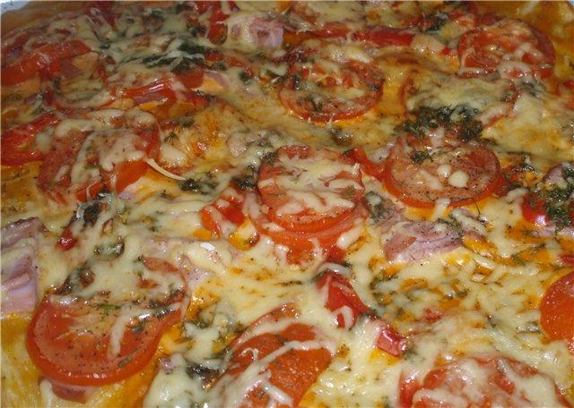 Пирожков дрожжевое тесто для пиццы