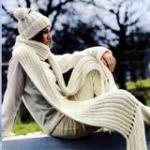 Как связать спицами шарф: советы начинающим