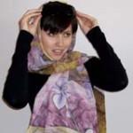 5 способов, как повязать шарф на голову