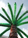 Как сделать пальму своими руками: украшение для дачи
