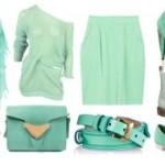 Будь в тренде: с чем носить мятный цвет