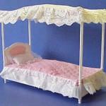 Как сделать кровать для барби своими руками