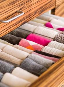 Как хранить носки