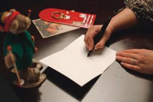 Как правильно подписать открытку