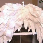 Как сделать крылья из бумаги для костюма