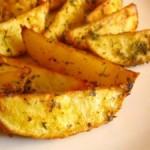 Как сделать картофель по-деревенски дома?