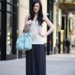 Что одеть с длинной юбкой