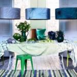 Сочетание зеленого с другими цветами в интерьере