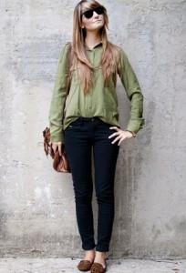 С чем носить клетчатый пиджак.  Оригинальные и изысканные блузки с баской и их фото.Многие девушки любят носить...