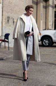 пальто уличная мода