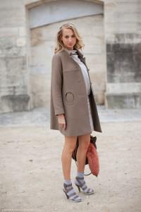 пальто в моде фото