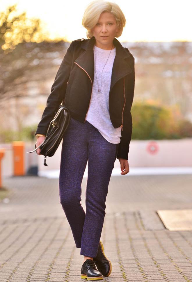С чем модно носить штаны