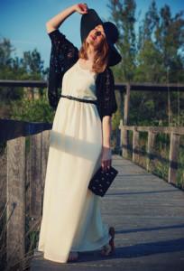 платье до пяток