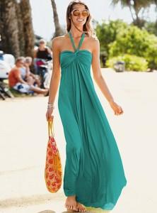 С чем носить длинное платье фото