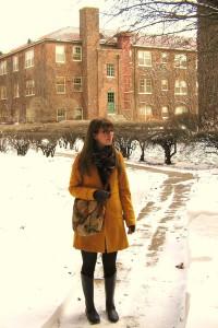 Как красиво завязать шарф на пальто
