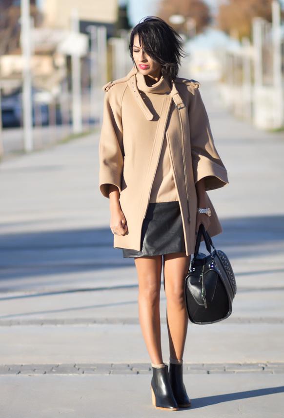 С чем носить светлое пальто.