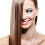Как волосы сделать прямыми?