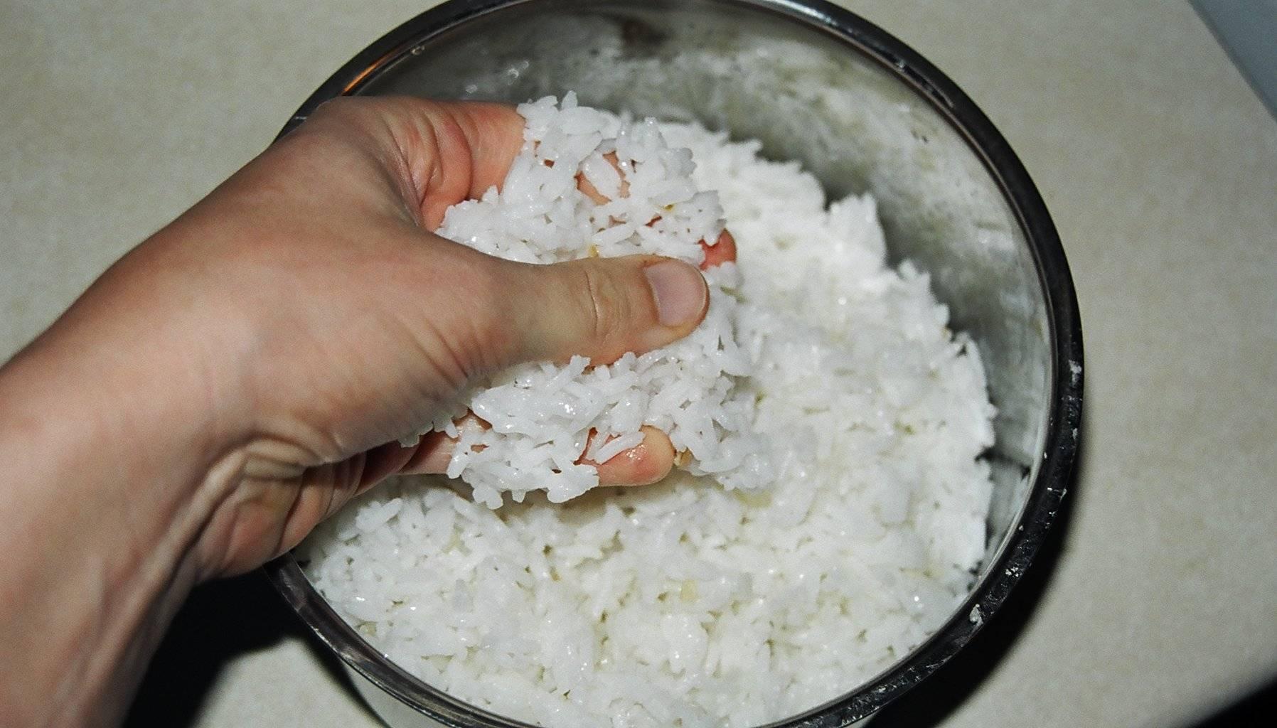 Роллы как варить рис