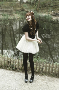 юбка белого цвета