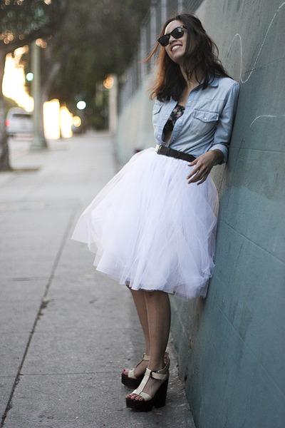 Белые юбки - модные модели весна-лето 2014, 22 фото от ShopsTOP