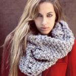 Как носить шарф-снуд?