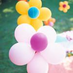 Как делать разные цветы из шаров