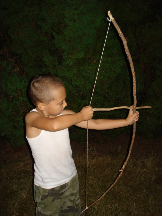 Как сделать для ребенка лук