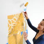 Как сделать трафареты для стен своими руками