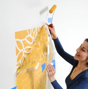 Как сделать трафареты для стен