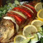 С чем из продуктов сочетается рыба