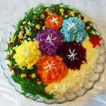 Рецепты салатов на Новый год 2014