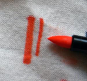 Как отстирать маркер