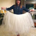 Как легко и просто сшить юбку из фатина: мастер-класс
