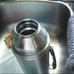 Как очистить термос внутри
