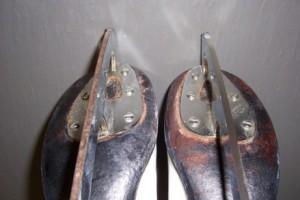 Как очистить коньки от ржавчины