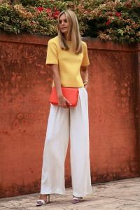 брюки белого цвета