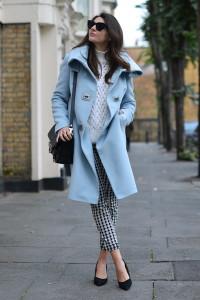 голубое пальто фото