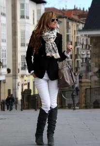 белые штаны фото