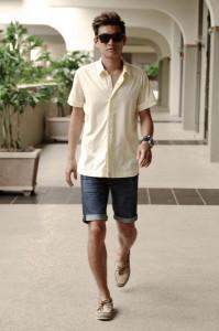 джинсовые шорты для мужчин